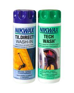 Nikwax Tech Wash / TX.Direct Wash-In Twin Pack