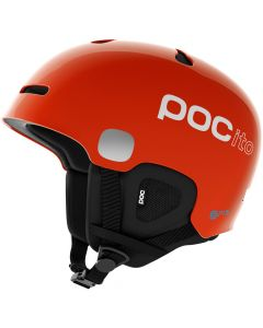 POC Auric Cut SPIN Ski Helmet, Fluorescent Orange - Save 25%
