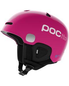 POC Auric Cut SPIN Ski Helmet, Fluorescent Pink - save 25%
