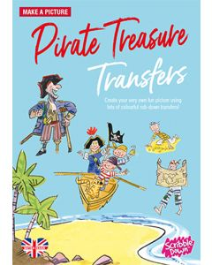 Scribble Down Pirate Treasure Transfers