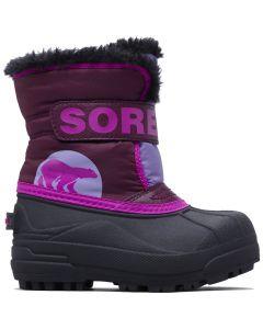 Sorel Snow Commander Kids Winter Boots, Purple Dahlia - save 20%