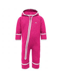 Trespass Amberjack Baby Suit - Pink Lady Marl