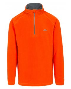 Trespass Mens Blackford Microfleece - Hot Orange