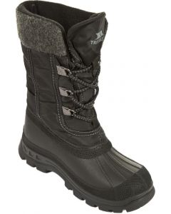 Trespass Strachan Youth Snow Boots, Black