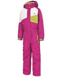 Trespass Wiper Girls 1 Piece Ski Suit