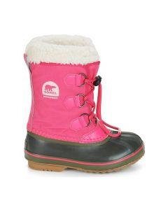 Sorel Yoot Pac Nylon Kids Snow Boots, Ultra Pink - save 40%
