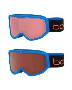 Bolle Inuk Kids Ski Goggles, Matte Blue Animals