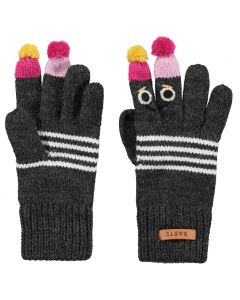 Barts Puppet Gloves - Dark Heather