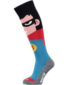 Barts Super Hero Kids Merino Ski Socks - Red