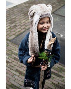 Barts Faux Fur Winter Hat - 4 - 8 yrs - save 40%