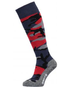 Barts Kids Ski Socks Camo Navy