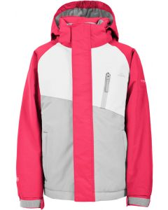 Trespass Crawley Girls Ski Suit, Raspberry