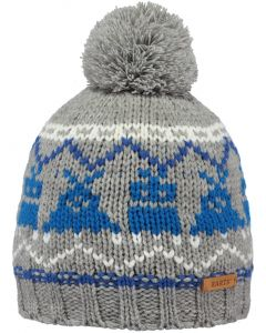 Barts Melker Beanie heather grey 53cm (4-8 years)