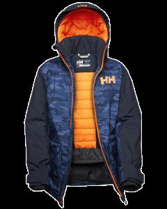 Helly Hansen Jr Skyhigh Jacket, Navy - save 40%