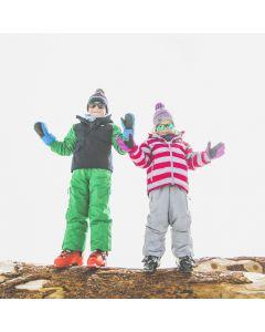 Trespass Motley Ski Jacket, Raspberry - save 70% 2-3 yrs only