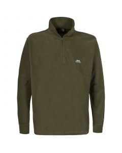 Trespass Mens Masonville Microfleece - olive