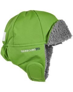 Didriksons Biggles Cap, Kryptonite Green - 54cm - save 70%