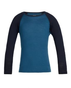 Icebreaker Kids 200 Merino Thermal, Prussian Blue 5-6 yrs only - save 50%
