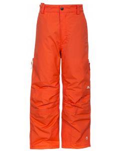 Trespass Contamines Unisex Ski Pants, Hot Orange