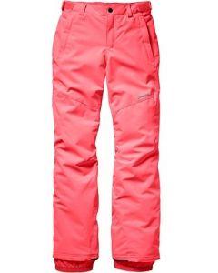 O'Neill Charm PG Ski Pants, Neon Tangerine Pink - save 40%