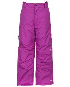 Trespass Contamines Unisex Ski Pants, Purple Orchid