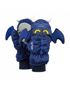 Barts 3D Nylon Bat Skiing Mittens Navy - save 25%