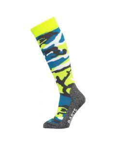 Barts Kids Ski Socks Camo Fluorescent