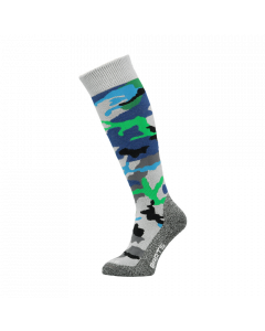Barts Camo Ski Socks, Blue - save 20%