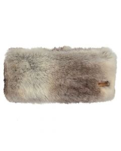 Barts Faux Fur Headband - Heather Brown