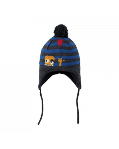 Barts Mikkel Inka Hat, Dark Heather (12 - 18 Mths) save 20%