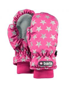 Barts Nylon Kids Ski Mittens -Berry Stars - 1 - 2 years only