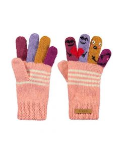 Barts Puppet Gl;oves - Pink