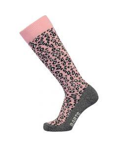 Barts Ski Sock, Animal Print Pink