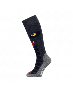 Barts Zoo Ski Socks, Black - save 40% UK Child 9-12 only
