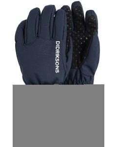 Didriksons Biggles Kid's Five-Finger Gloves, Navy Save 20%