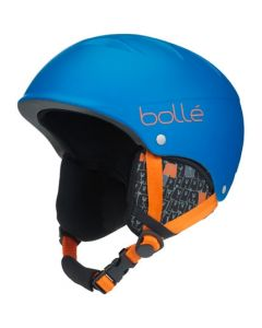 Bolle B-Free Kids Ski Helmet, Matt Blue Animals - save 25%