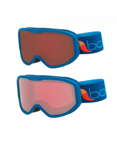 Bolle Inuk Kids Ski Goggles, Blue 3-6 yrs - 2 lens options