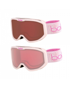 Bolle Inuk Kids Ski Goggles, Pink 3 - 6 yrs - 2 lens options