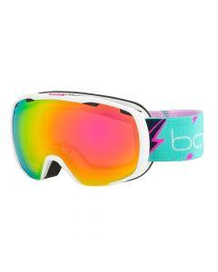 Bolle Royal Ski Goggles, Matte White Flash Rose Gold (8 - 14 years)