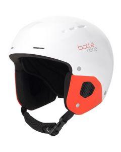 Bolle Quickster Kids Ski Helmet, Shiny White & Red, 2 sizes