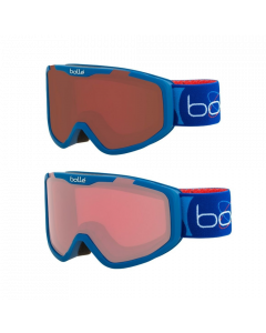 Bolle Rocket Kids Ski Goggles, Blue 6 yrs + - 2 lens options