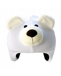 Cool Casc Animals Helmet Cover, Polar Bear