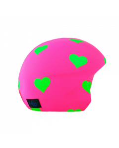 Cool Casc Foggy Days Helmet Cover - Foggy Hearts