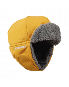Didriksons Biggles Kids Winter Hat - Mellow Yellow