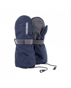 Didriksons Biggles Kids Ski Mittens in Navy