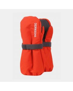 Didriksons Biggles Kids Ski Mittens - Poppy Red