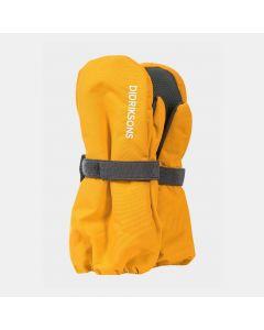 Didriksons Biggles Kids Ski Mittens - Mellow Yellow