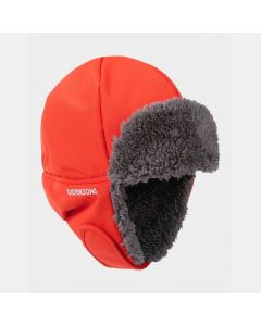 Didriksons Biggles Kids Winter Hat - Poppy Red
