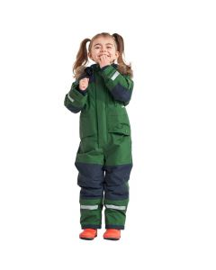 Didriksons Bjornen Kids Snowsuit - Leaf Green