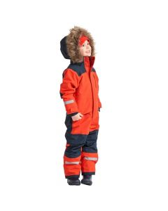 Didriksons Bjornen Kids Snowsuit - Poppy Red